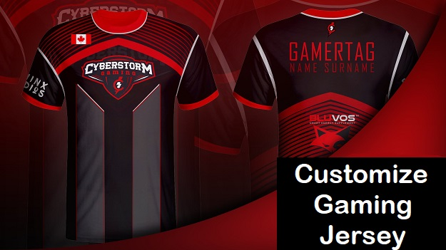 Customize Gaming Jersey